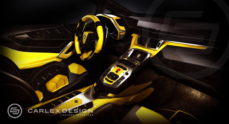 Lamborghini Aventador 50th Anniversario Becomes Yellow Bull By Carlex Autoevolution