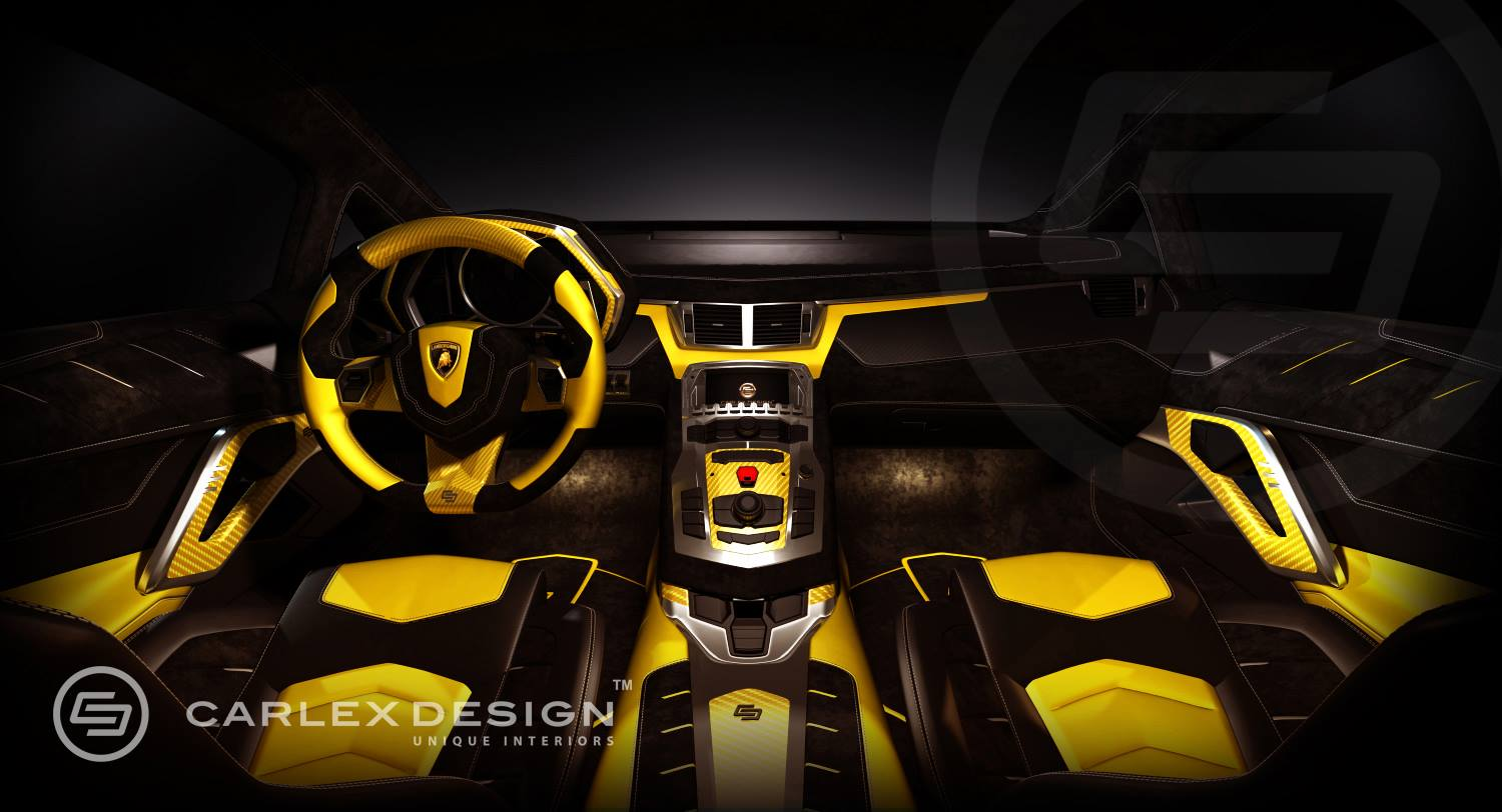 lamborghini aventador 50th anniversario becomes yellow bull by carlex autoevolution - Real Lamborghini Bull
