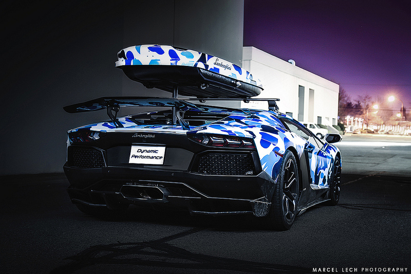 Lamborghini Aventador Becomes Fastest Ski Car Ever