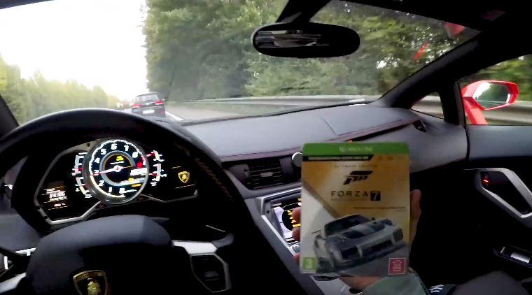 Lamborghini Aventador Becomes Ultimate Forza Motorsport 7 Controller Autoevolution
