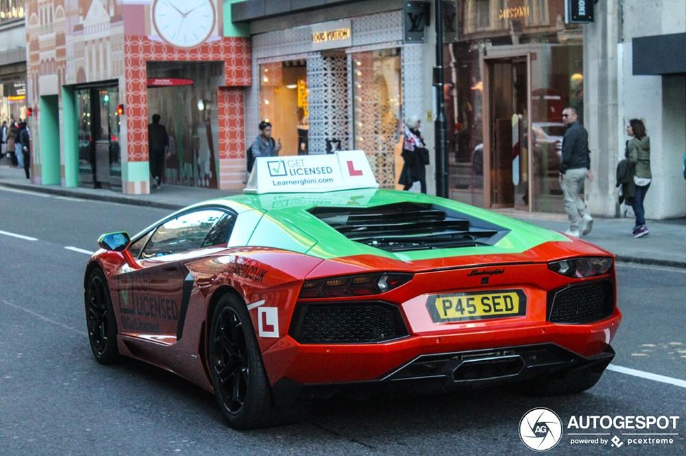 Lamborghini Aventador Driving School Car Hits London Lessons Cost