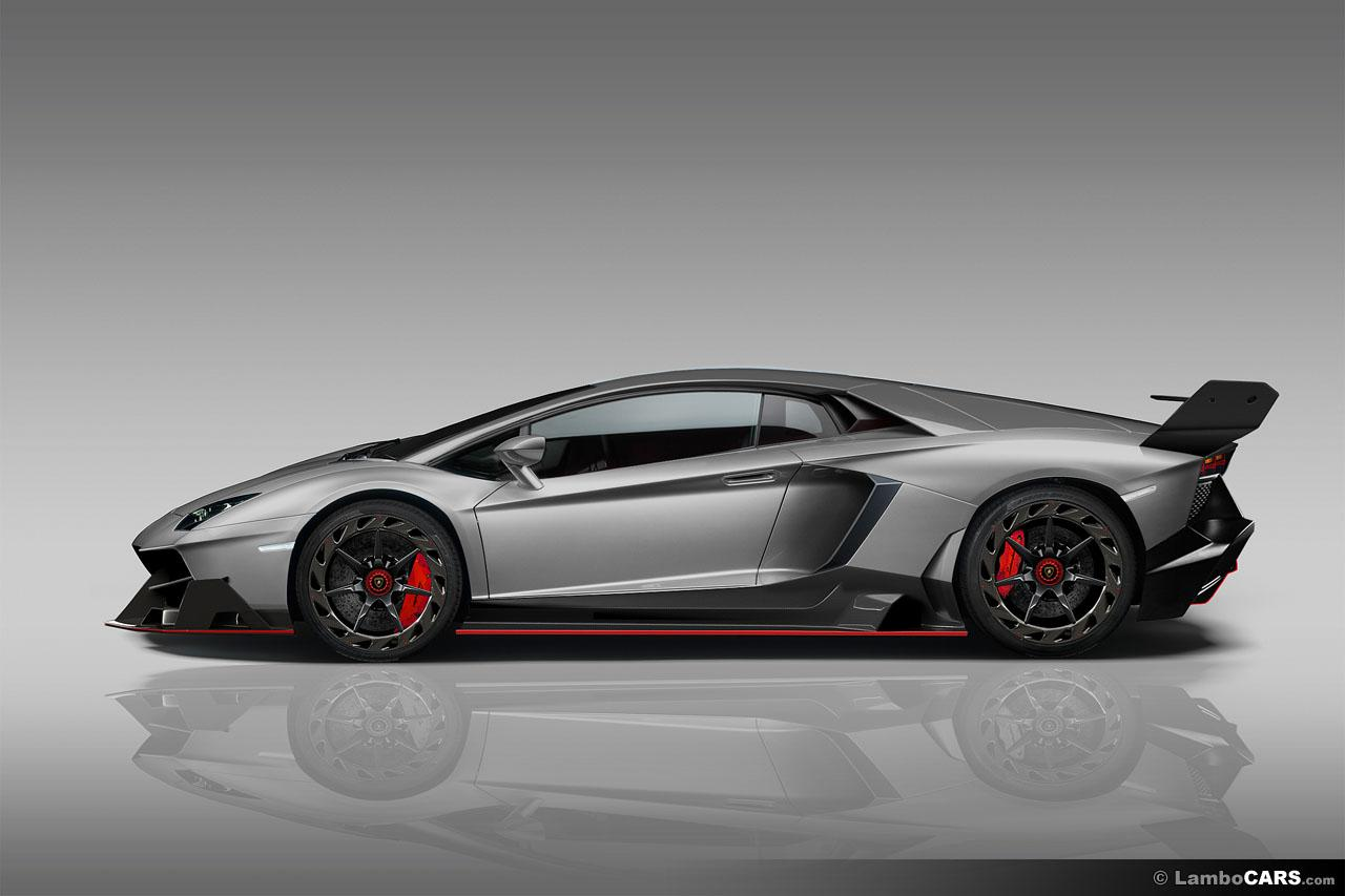 Lamborghini Aventador Gets Veneno Body Kit Via Virtual