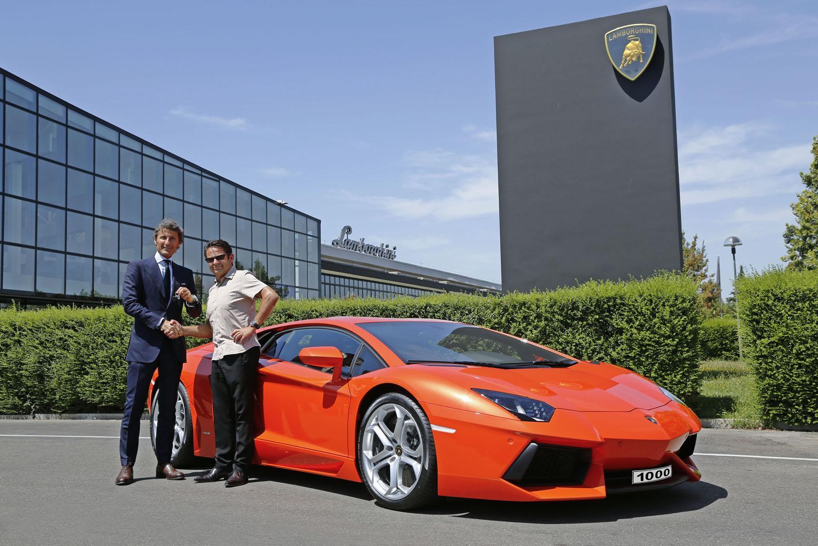 Lamborghini Aventador Hits 1 000 Units Production