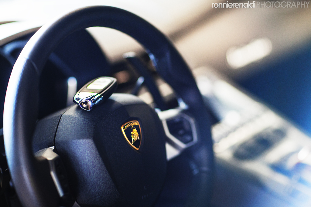 Lamborghini Aventador In Matte Black The Details