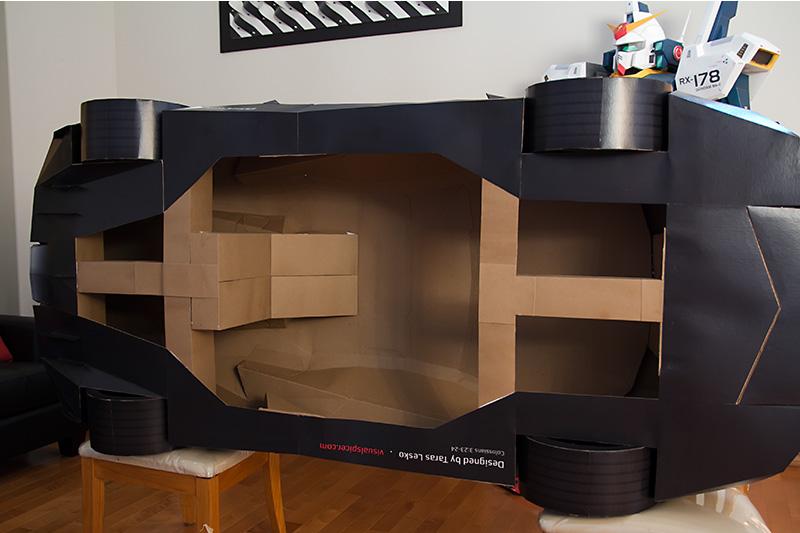 Build Your Own Lamborghini Kit Car >> Lamborghini Aventador Police Car: Half-Scale Cardboard Model [Video] - autoevolution