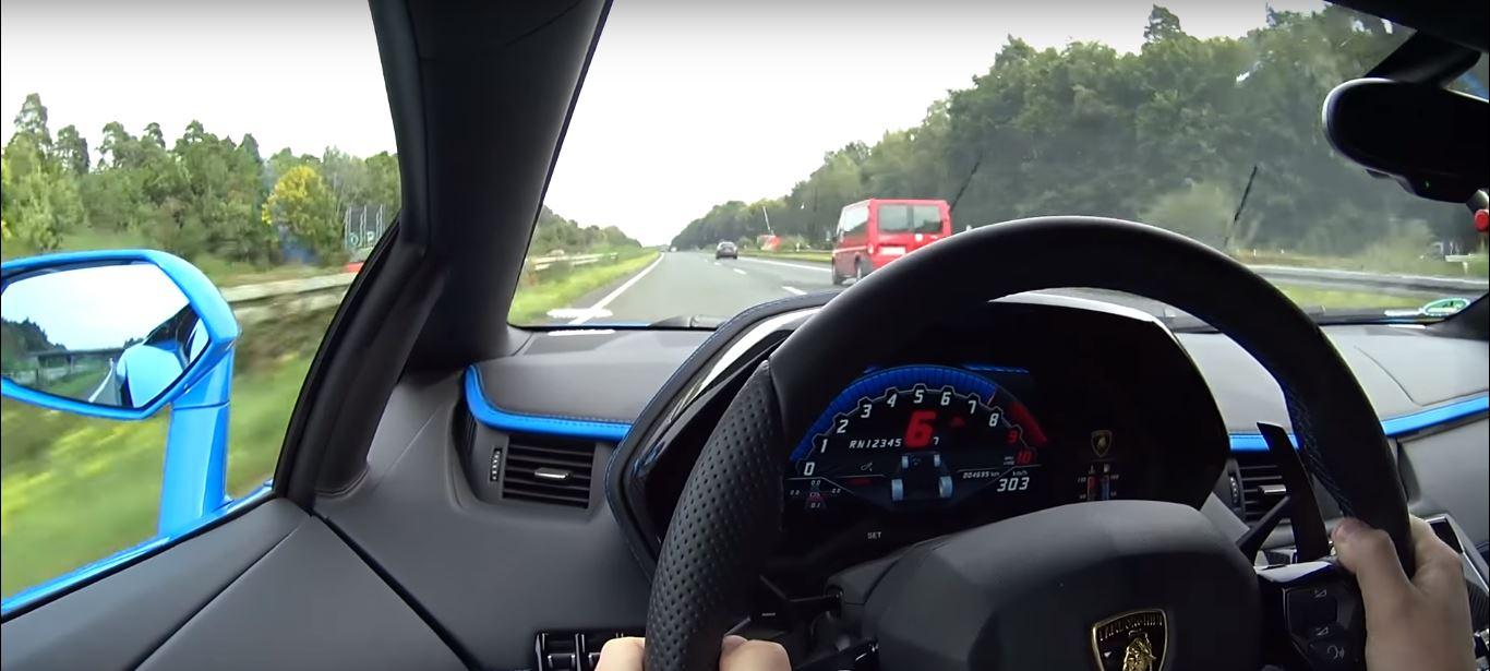 lamborghini aventador s overtakes at 190 mph 307 km h in autobahn run autoevolution. Black Bedroom Furniture Sets. Home Design Ideas