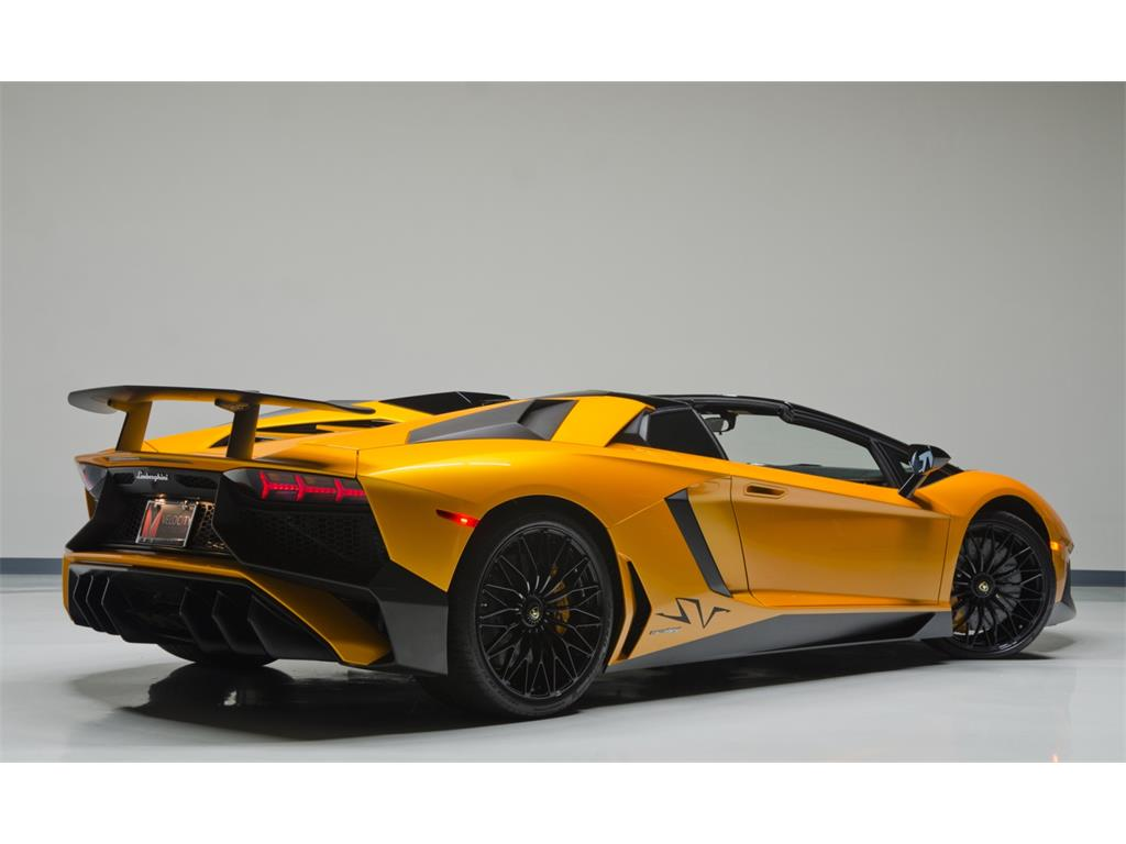 Lamborghini Aventador LP 7504 SuperVeloce Roadster Listed for $799,995  autoevolution