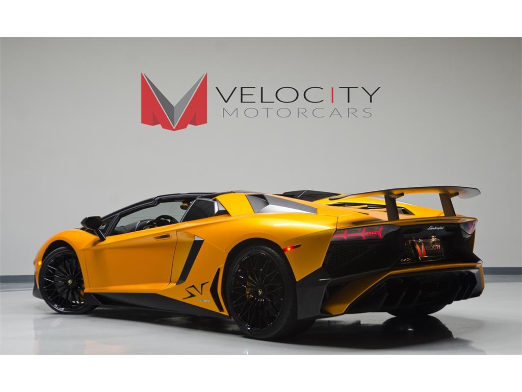 Lamborghini Aventador Lp 750 4 Superveloce Roadster Listed