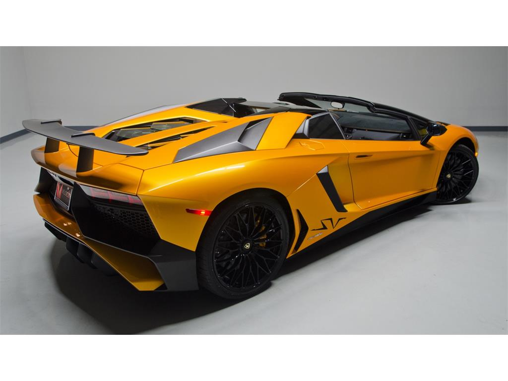 lamborghini aventador lp 750 4 superveloce roadster listed. Black Bedroom Furniture Sets. Home Design Ideas