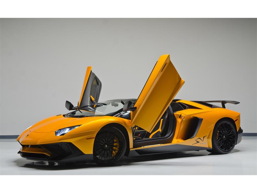 Lamborghini Aventador LP 750-4 SuperVeloce Roadster Listed ...