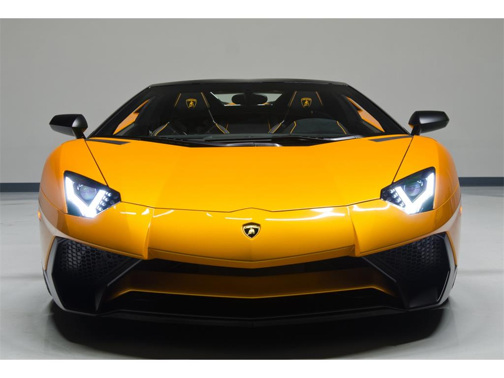 Lamborghini Aventador Lp 750 4 Superveloce Roadster Listed