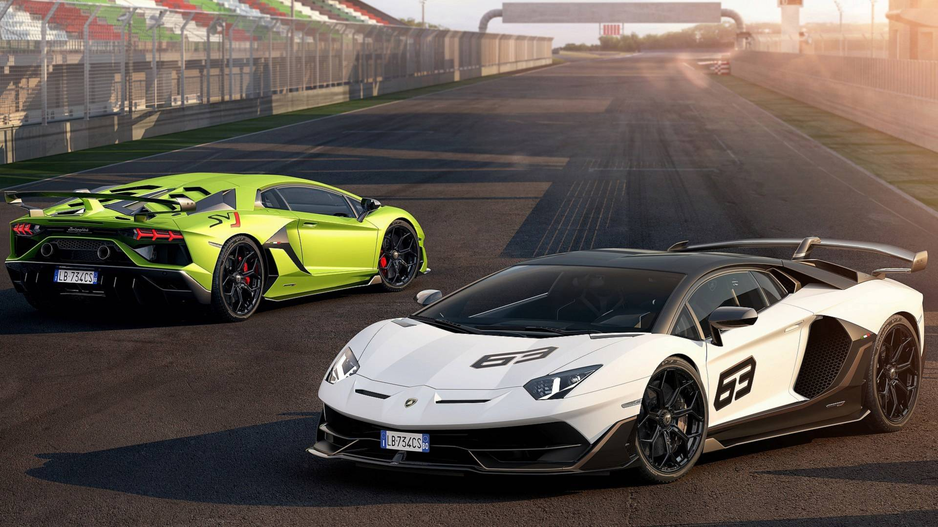 Lamborghini Aventador Svj Looks Complicated In Live