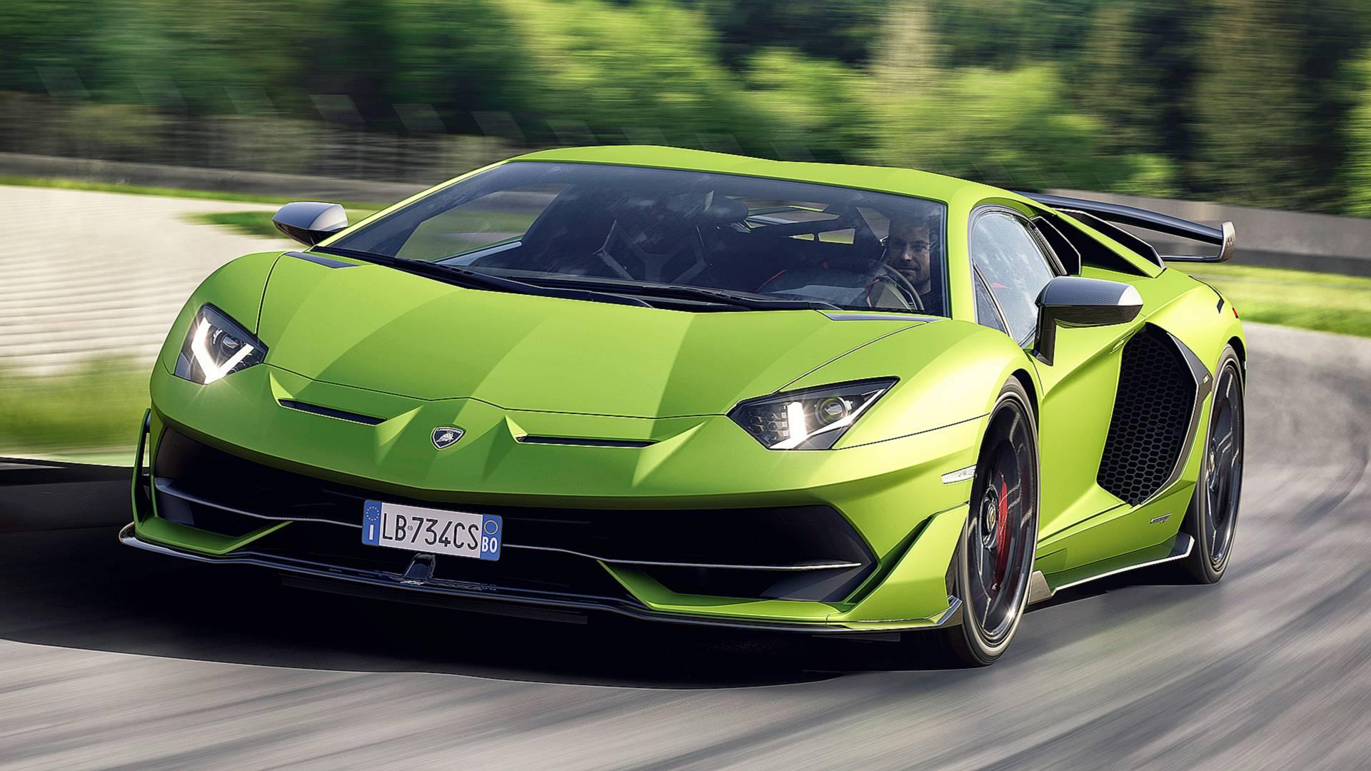 Lamborghini Aventador Svj Looks Complicated In Live