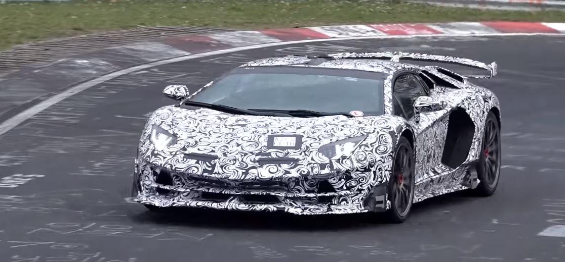 Lamborghini Aventador Svj Showcases V12 Sound On Nurburgring Rivals