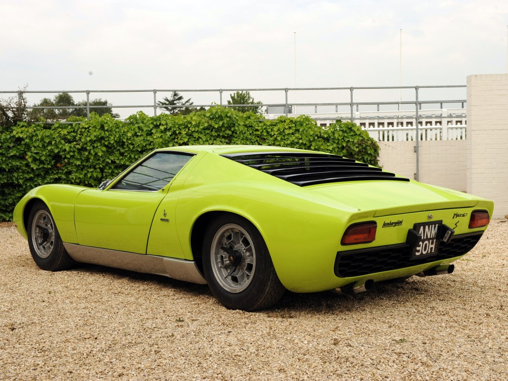 Very Accurate Lamborghini Miura Replica Shows Up At 2015 Tokyo Auto Salon Autoevolution