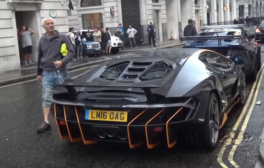 Lamborghini Centenario Hot Rod Spotted On Transformers 5 Movie Set
