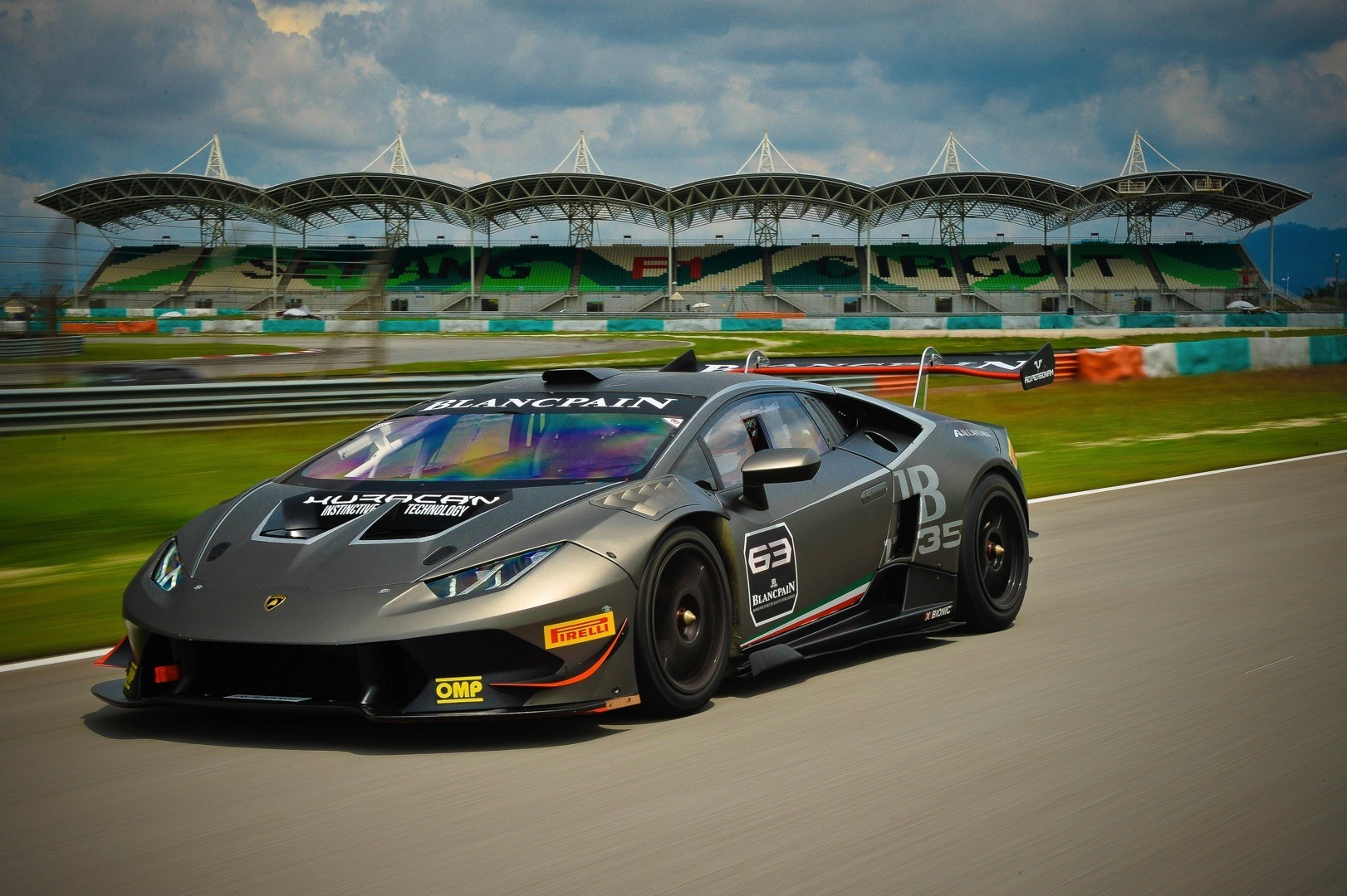 Lamborghini Confirms The 2015 Blancpain Super Trofeo