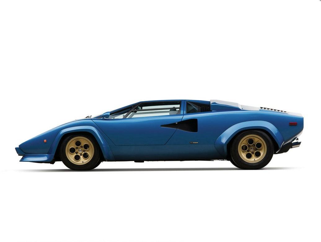 Lamborghini Countach LP400S 1974 года выпуска