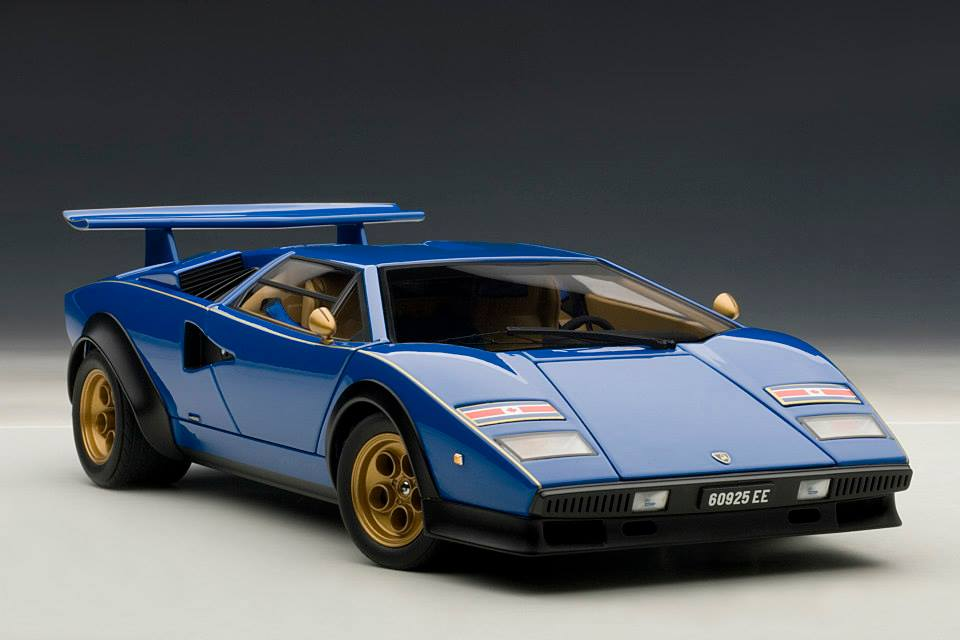 lamborghini countach walter wolf edition scale model is. Black Bedroom Furniture Sets. Home Design Ideas