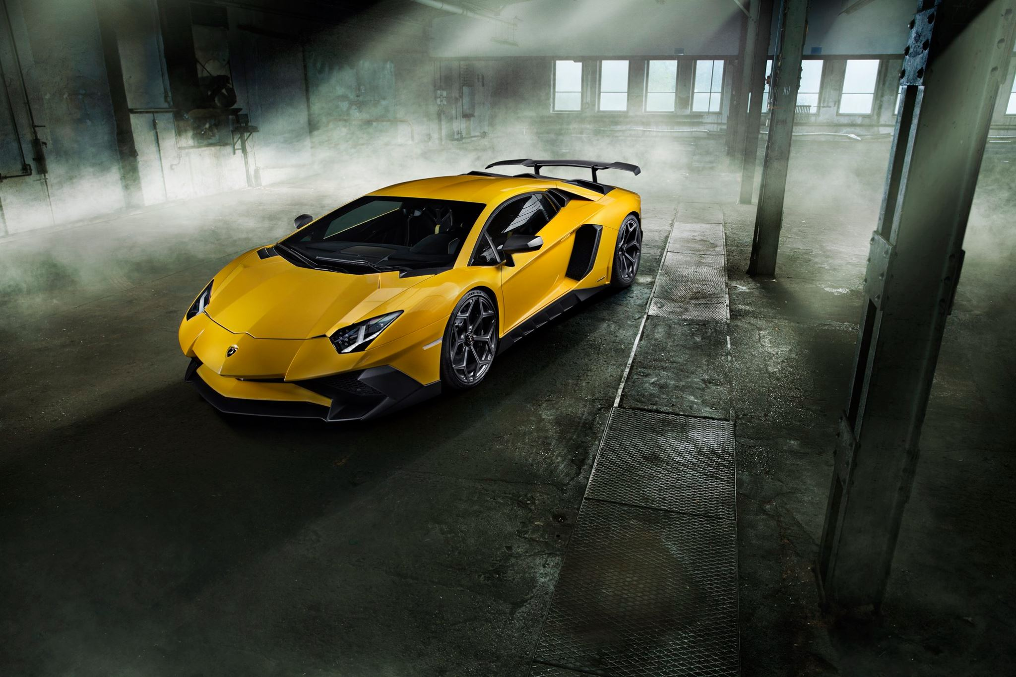 Lamborghini Crashes Into Luxury Showroom Takes Two