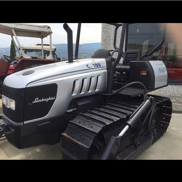 Lamborghini Crawler Tractors Prove Supercar Makers Could