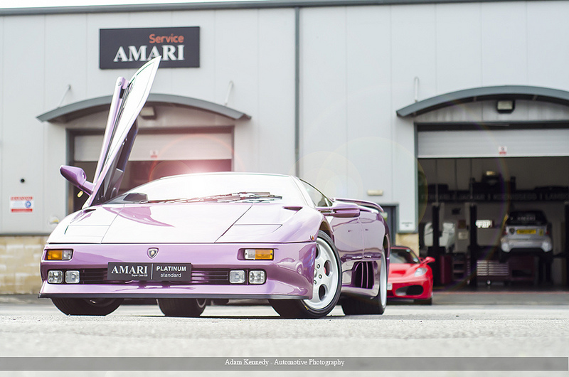 Lamborghini diablo formerly belonging to jay kay now for sale