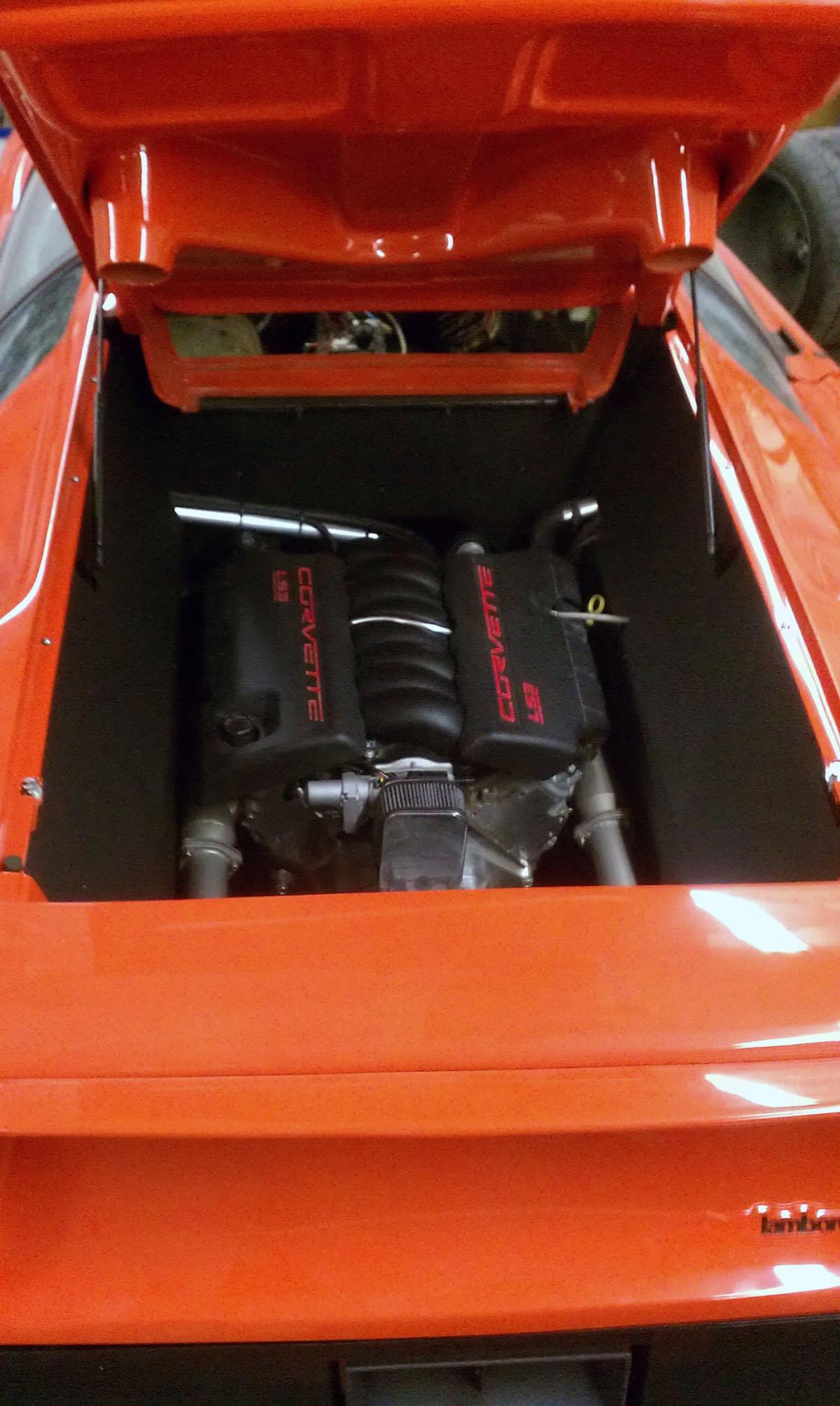 Lamborghini Diablo With Ls3 V8 Engine Swap Has 550 Hp Autoevolution