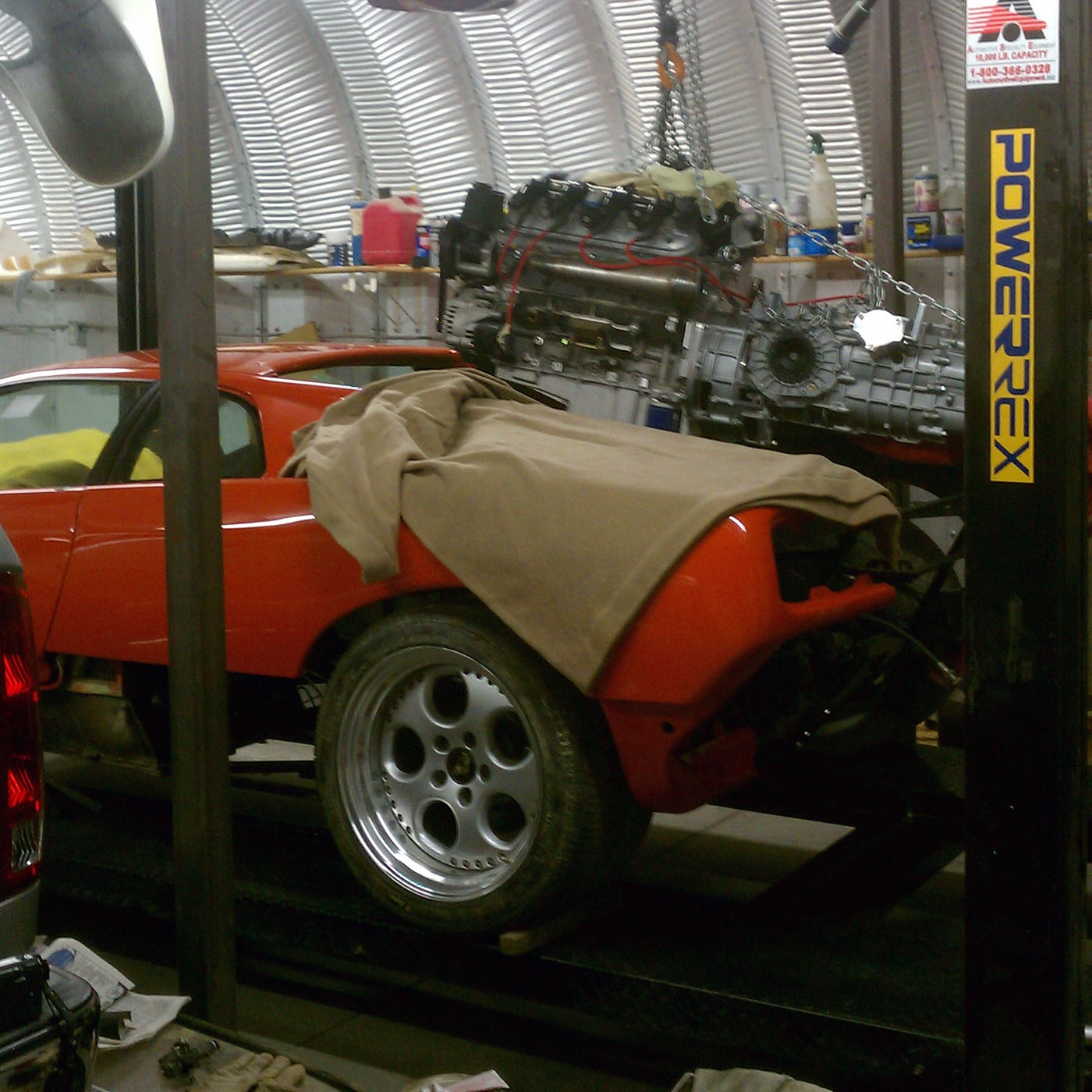 Lamborghini Diablo With Ls3 V8 Engine Swap Has 550 Hp