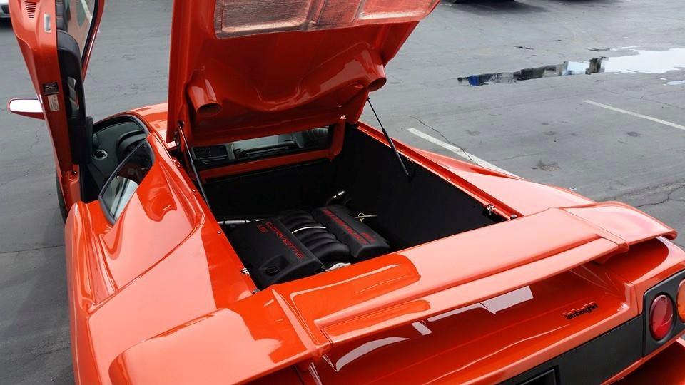 Lamborghini Diablo With Ls V Engine Swap Has Hp Photo Gallery on Ls1 Performance Engine