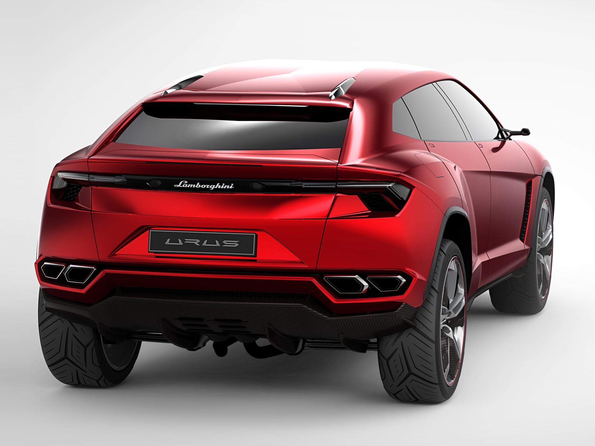 ... Lamborghini Urus SUV (concept Version) ...