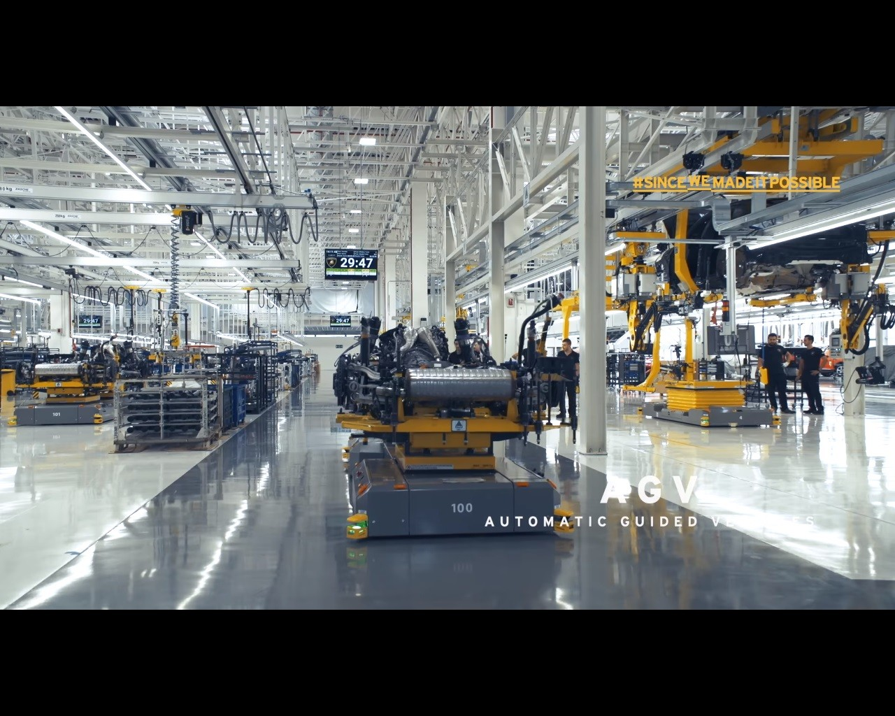 Lamborghini Factory 4 0 Video Is Yet Another Teaser For