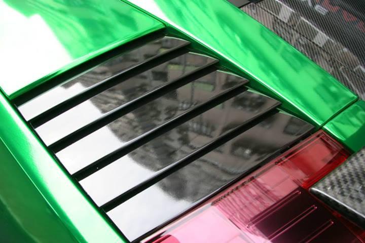 Lamborghini Gallardo Goes Green Chrome In Hong Kong Autoevolution