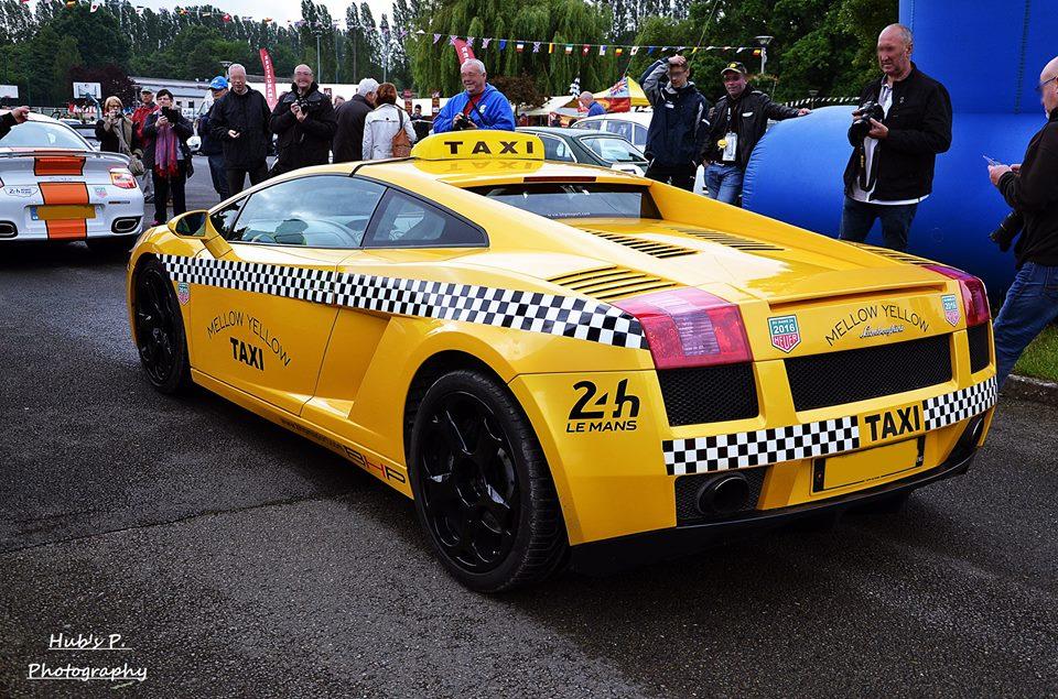 French Lamborghini Gallardo Taxi Was A Treat For Le Mans Fans Autoevolution