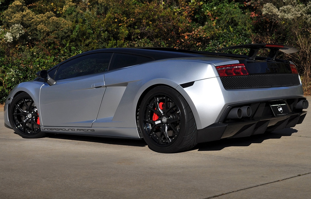 Lamborghini Gallardo Twin Turbo By Underground Racing Goes To Puerto Rico Autoevolution