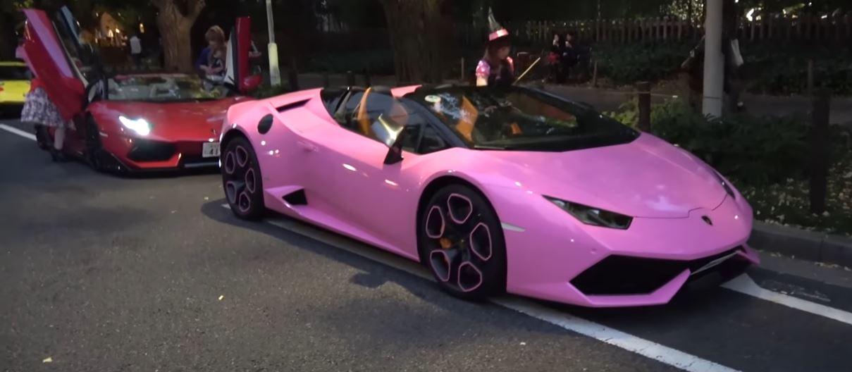 Lamborghini Murcielago With Veneno Body Kit Does Cosplay For Tokyo Halloween Run Autoevolution