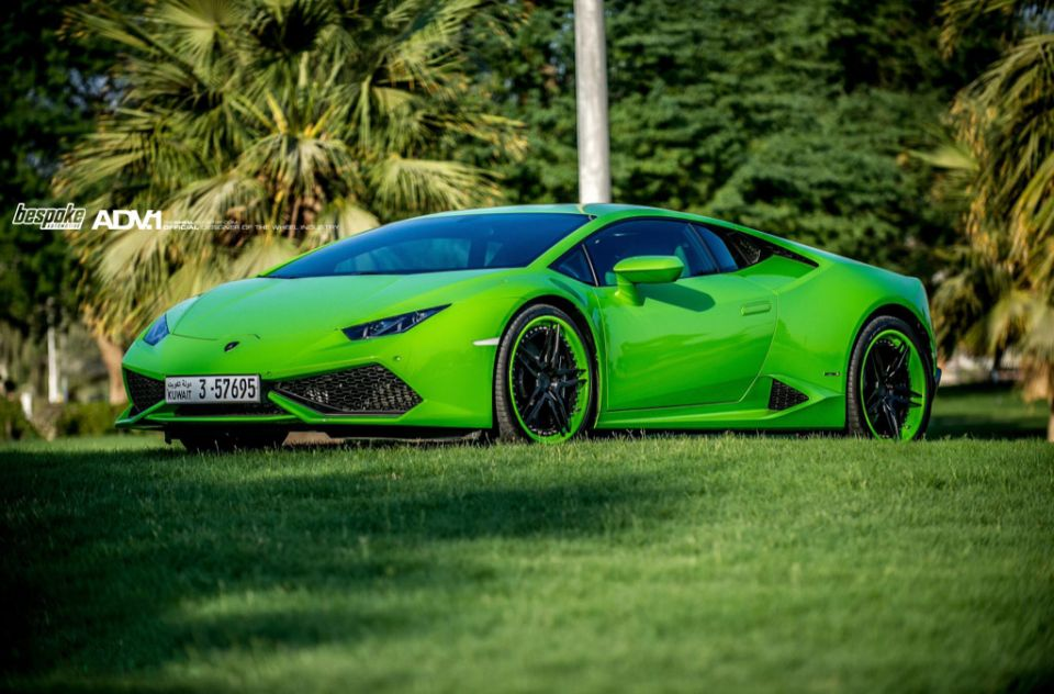 lamborghini huracan on adv1 wheels hulkcan