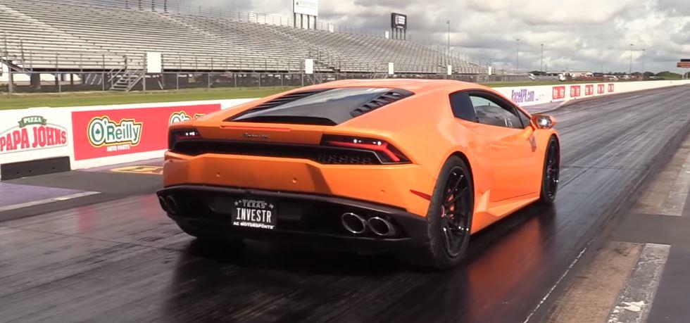 Lamborghini Huracan Drag Races Sneaky Cadillac CTS-V, Gets ...