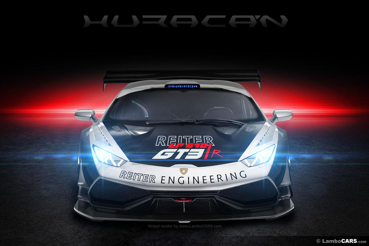 Lamborghini Huracan Race Car Rendered Autoevolution