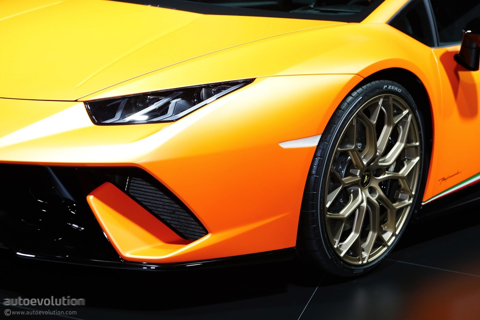 ... Lamborghini Huracan Performante Live At 2017 Geneva Motor Show ...