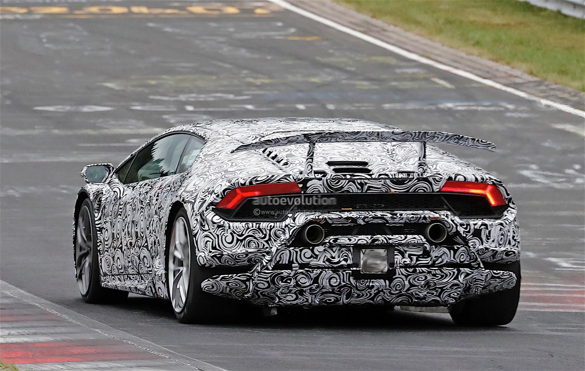 Lamborghini Huracan Performante Previewed In London Nurburgring Lap Mentioned Autoevolution
