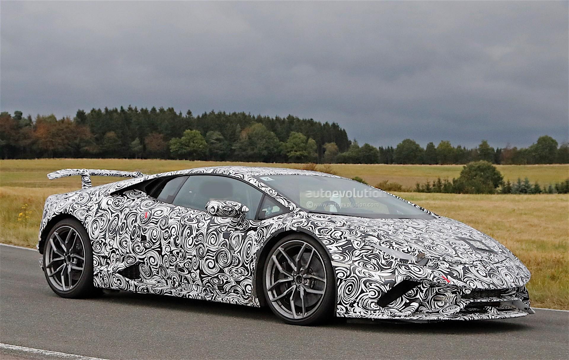 Lamborghini Huracan Performante Previewed In London