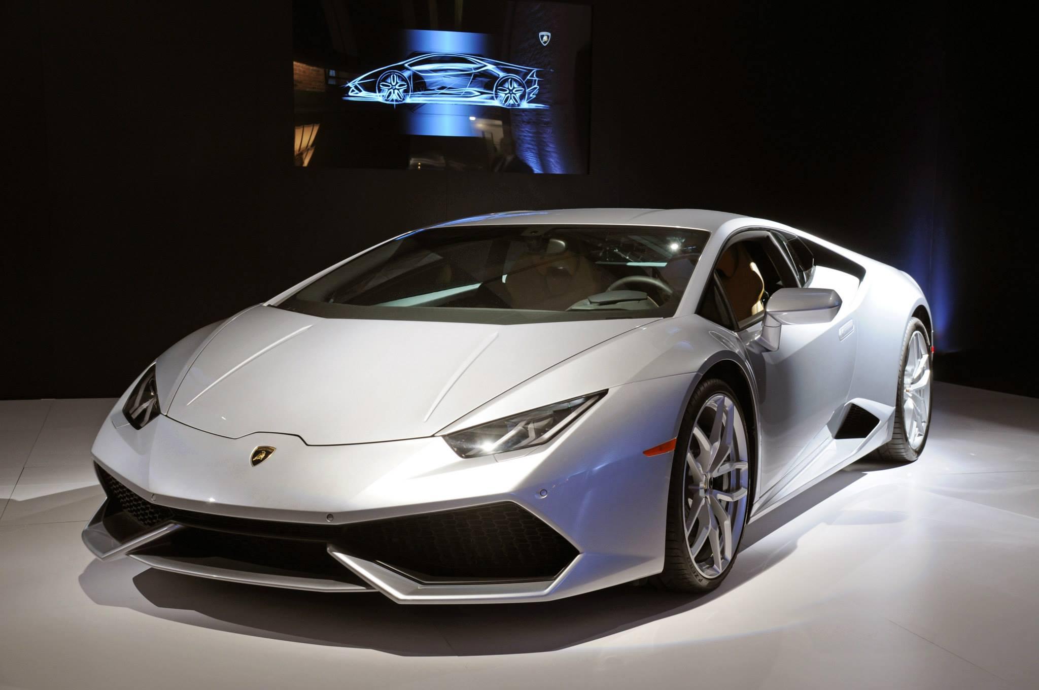Lamborghini Huracan Showcased In New York At Bathhouse