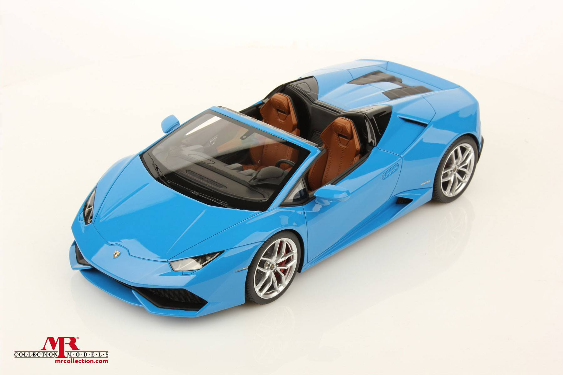 lamborghini huracan spyder 1 18 scale model looks just like the frankfurt showstopper. Black Bedroom Furniture Sets. Home Design Ideas