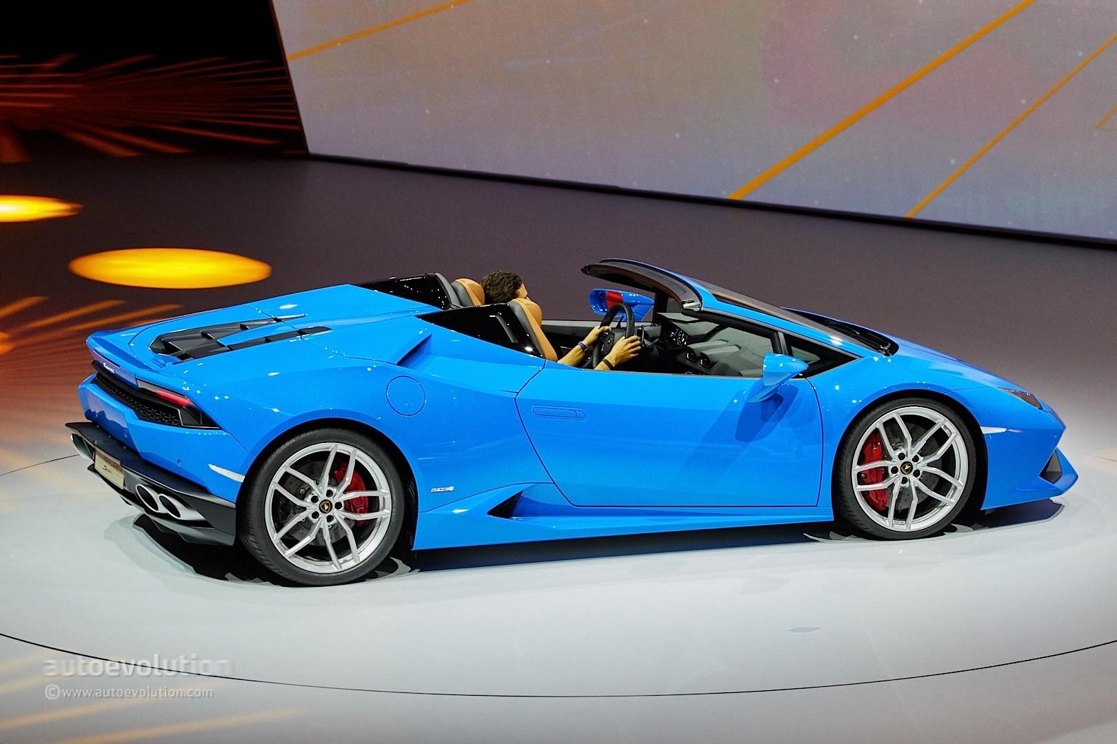 Lamborghini Huracan Spyder Looks Like The Ferrari 488 S