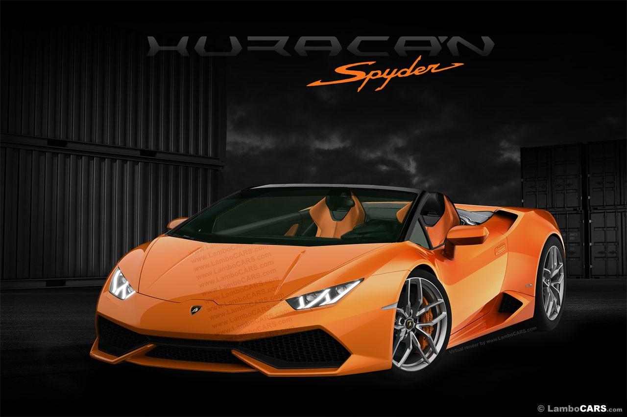 Lamborghini Huracan Spyder Roof Opening Gif Is Enjoyable To Watch