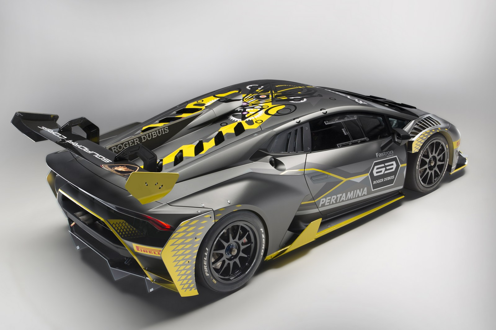 lamborghini huracan super trofeo gets a lot racier with evo model autoevolu. Black Bedroom Furniture Sets. Home Design Ideas