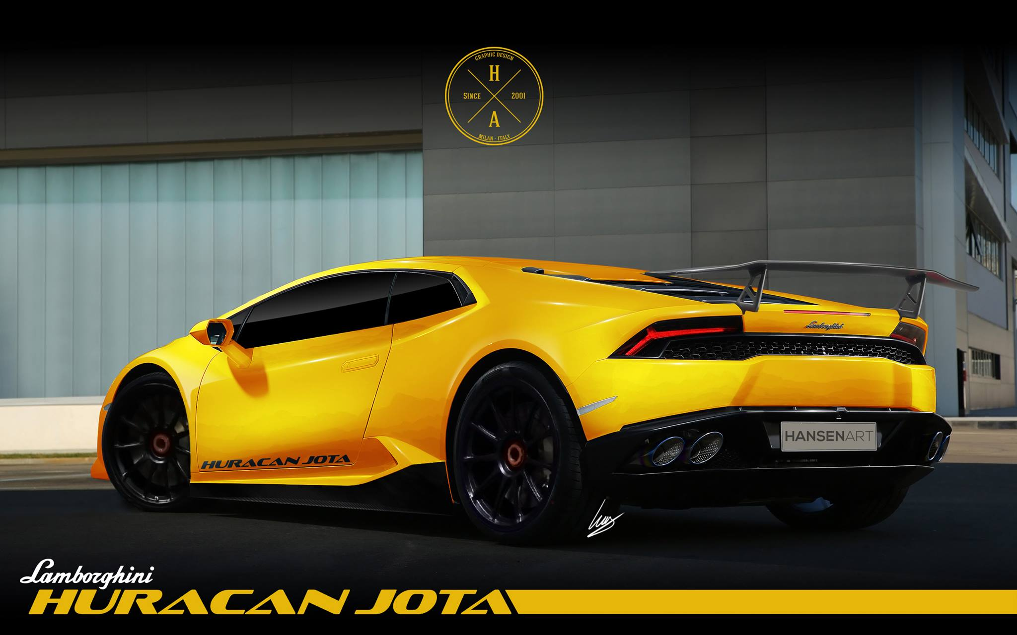 Lamborghini Huracan Superleggera Special Edition Rendered