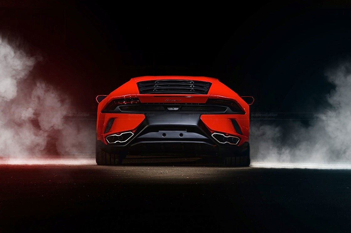 2015 Ares Design Lamborghini Huracan 2 Wide Digital Art by F S