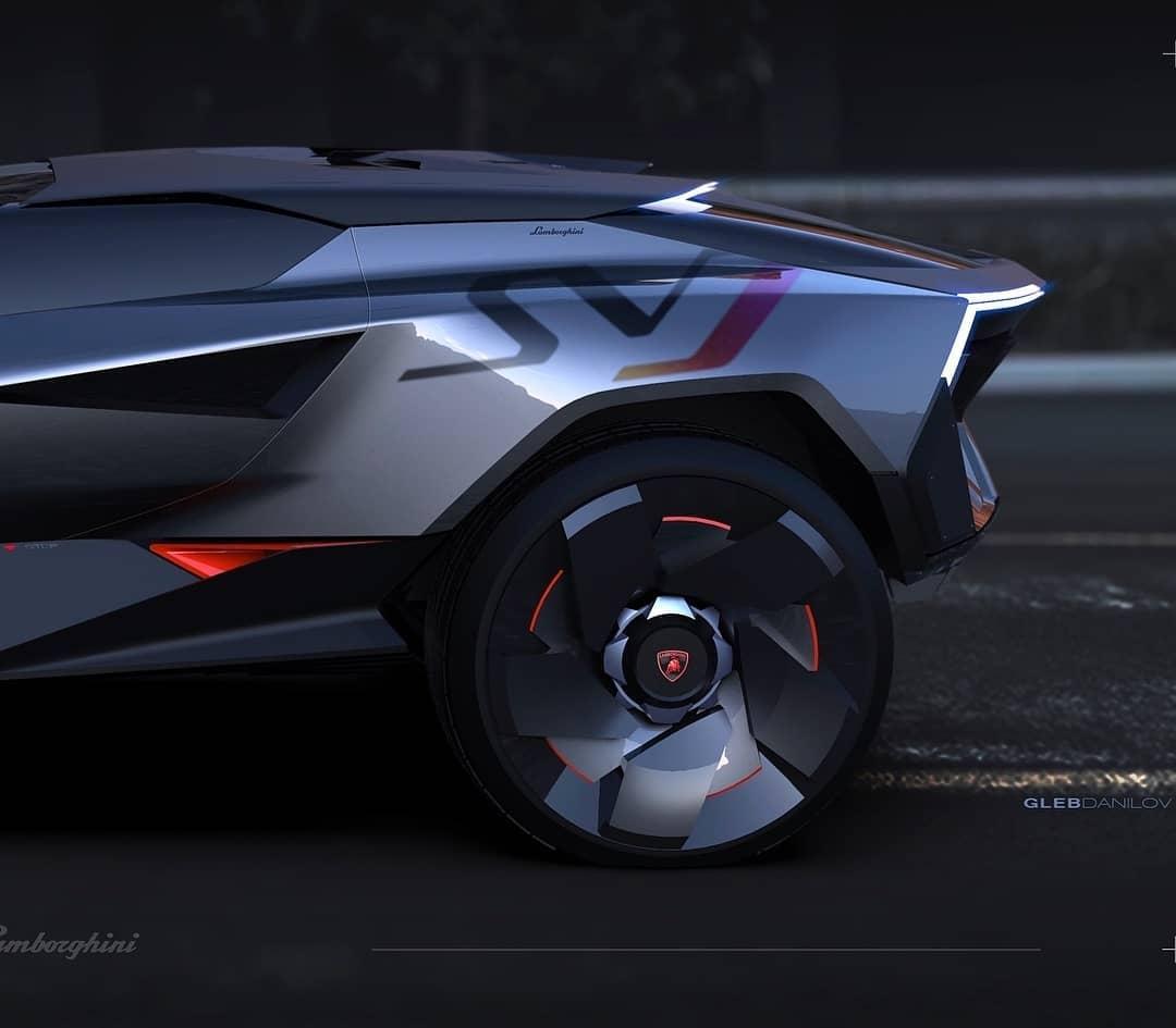 Lamborghini Hyper SUV Concept Looks Like A Lifted