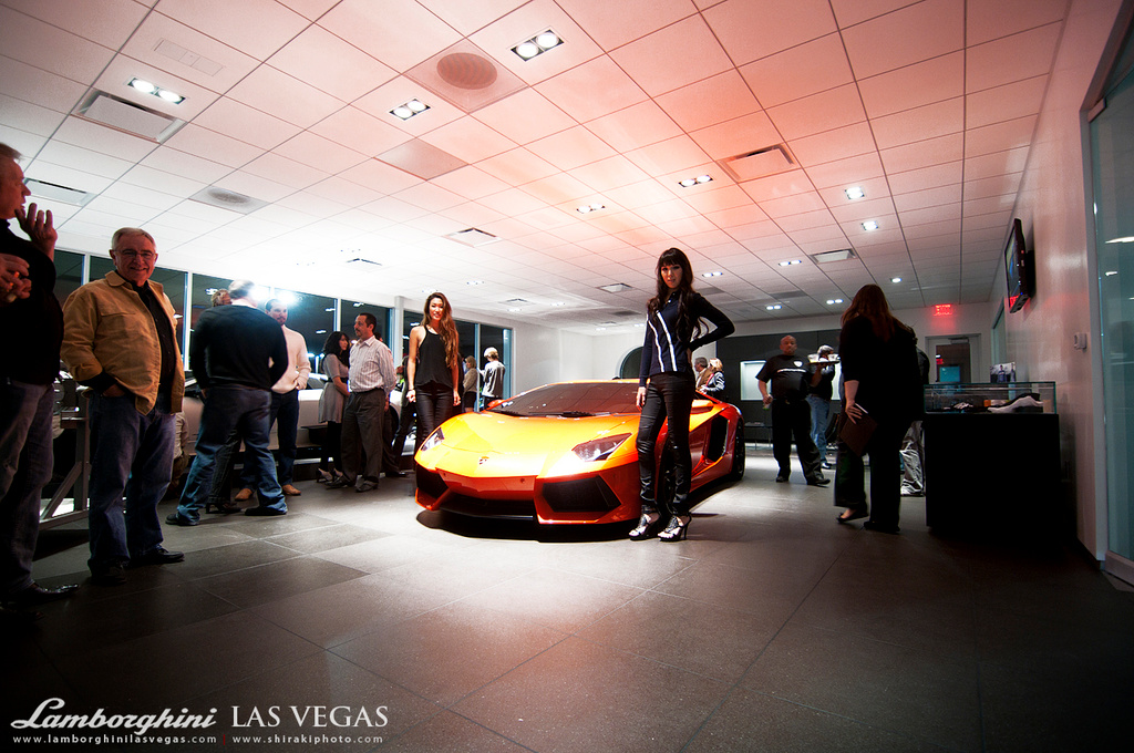 Lamborghini Las Vegas Grand Opening Photos Updated